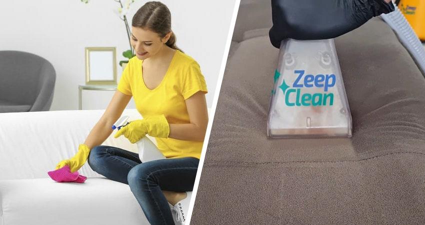 Limpeza de sofá caseira x Limpeza profissional