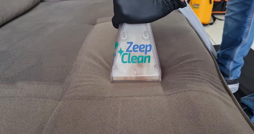 Técnico da Zeep Clean