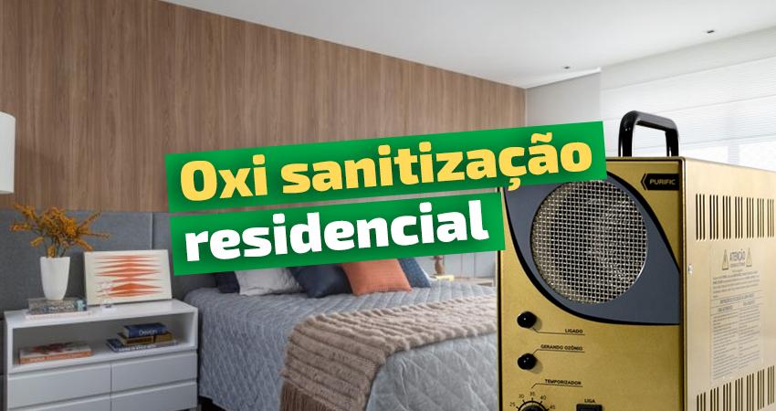 oxi sanitização residencial