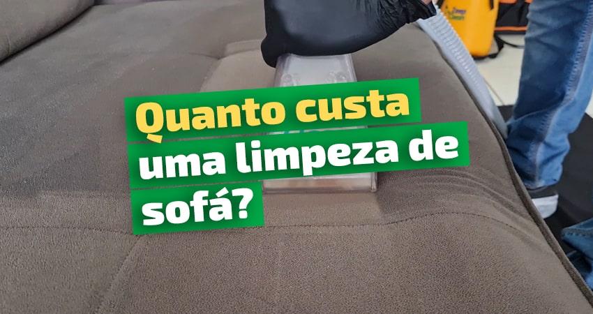quanto custa uma limpeza de sofá em Brasília