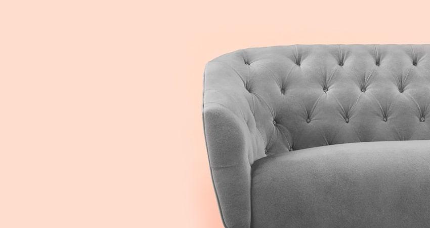 Sofá de Suede