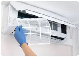 Higienização de ar-condicionado