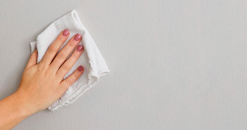 Limpar paredes do Seu Quarto