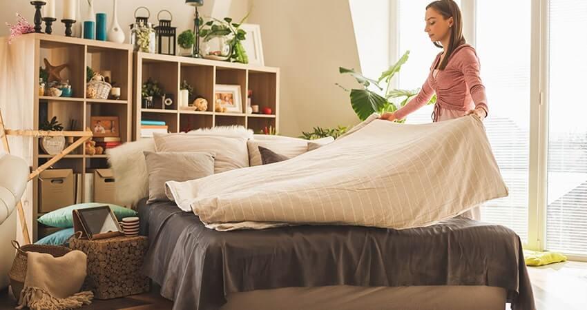 limpar seu quarto