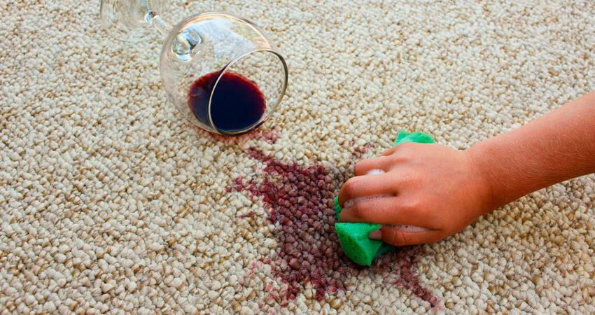 remover manchas do carpete rápido